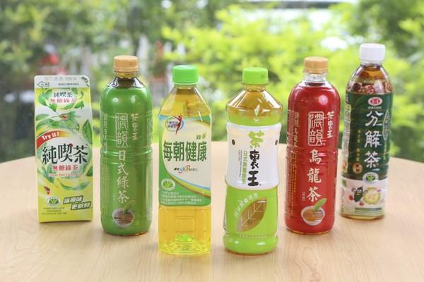 綠茶中有豐富的兒茶素