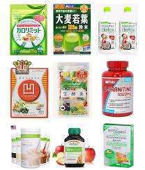 市面上琳瑯滿目的減肥產品