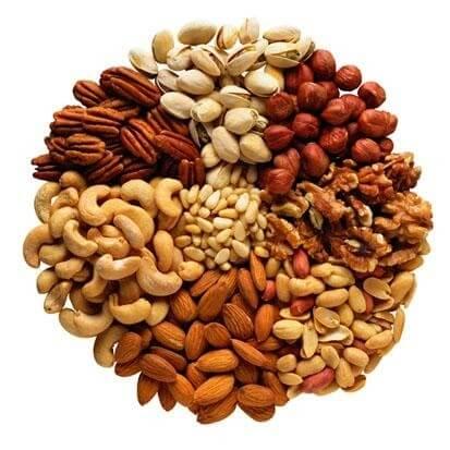 堅果種子類是維生素E的來源