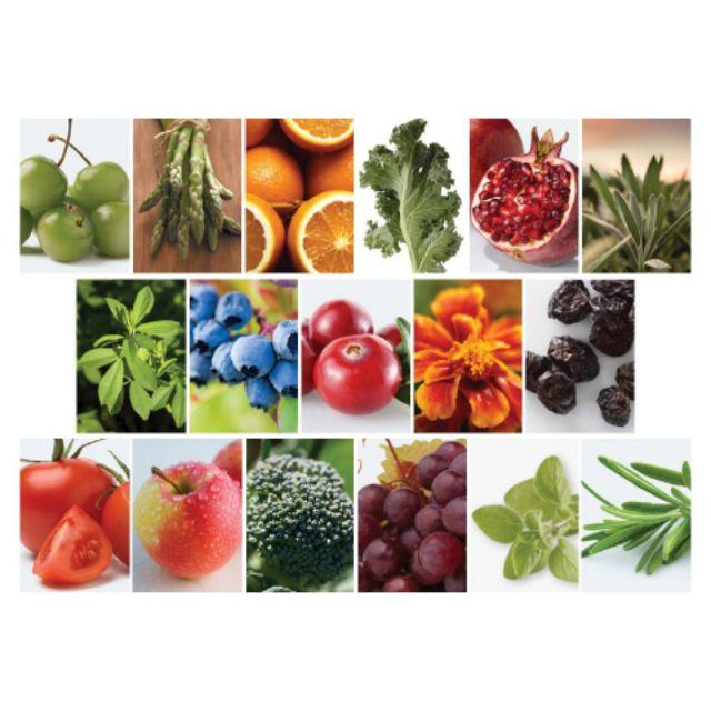 蔬果含有豐富的植化素