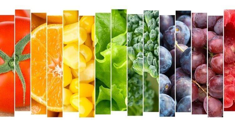 天然蔬果中有豐富的維生素B群