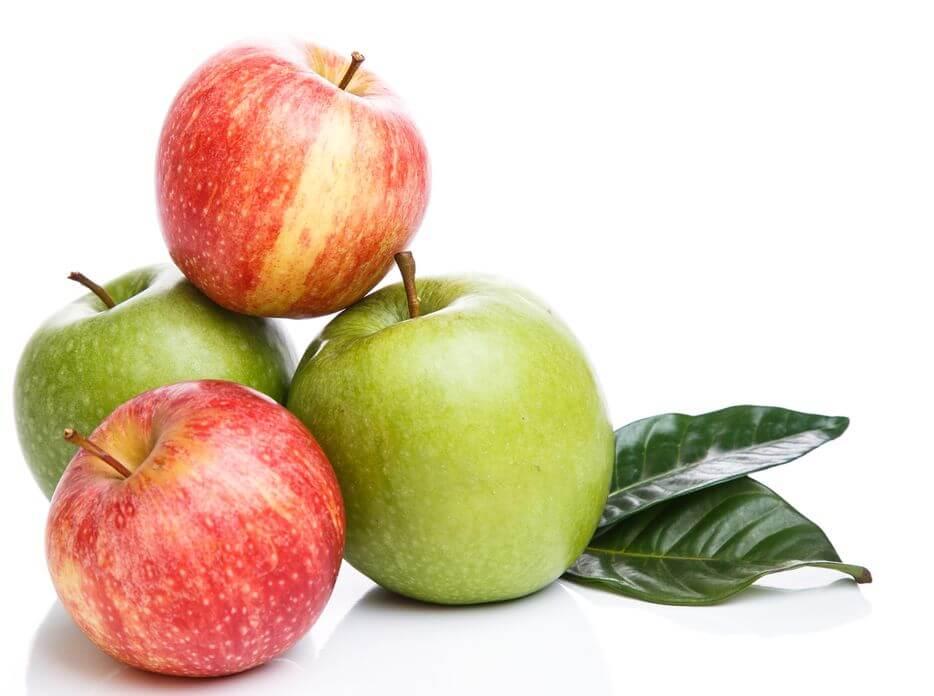 蘋果皮含有豐富的槲皮素